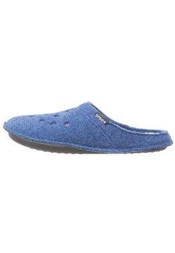Crocs - CLASSIC - Chaussons - cerulean