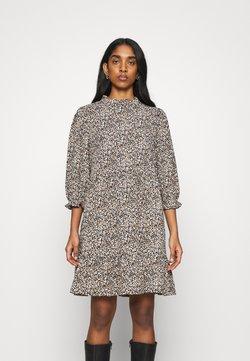ONLY - ONLZILLE NAYA HIGHNECK DRESS  - Vestido informal - black