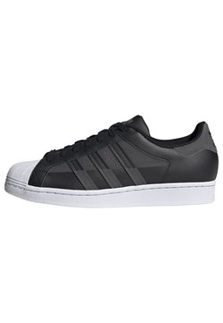 adidas Originals - SUPERSTAR SHOES - Sneakers laag - black