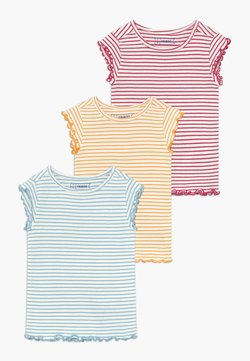 Friboo - 3 PACK - T-shirt basic - red/light blue/yellow