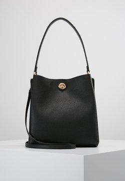 Coach - POLISHED CHARLIE BUCKET - Handtasche - black