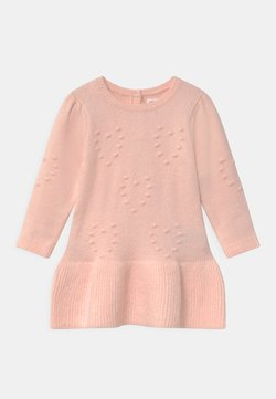GAP - HEART - Strickkleid - milkshake pink
