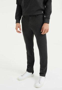 WE Fashion - Chino - dark grey