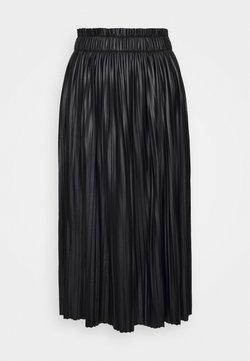 ONLY Tall - ONLMIE MIDI SKIRT - Jupe plissée - black