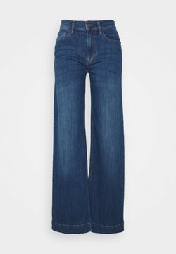 Pieszak - GILLY SWAN WIDE PANT EXCLUSIVE - Relaxed fit jeans - denim blue