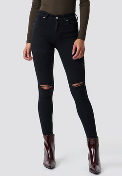 NA-KD - Jeans Skinny Fit - black
