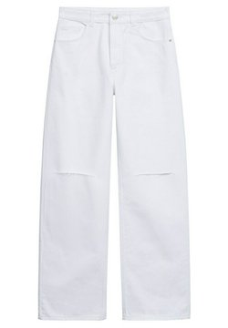 Mango - Straight leg jeans - wit