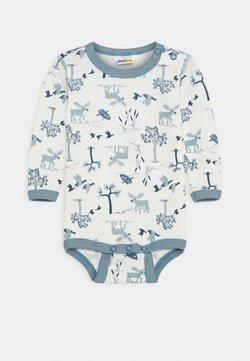 Joha - LONG SLEEVES - Body / Bodystockings - light blue/off white