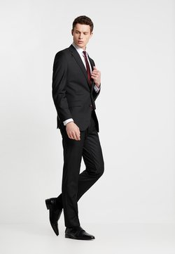 Bugatti - SUIT REGULAR FIT - Anzug - black