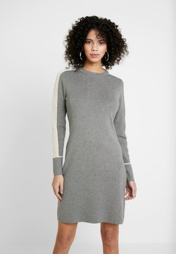 Calvin Klein - DRESS - Strickkleid - grey