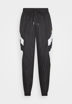 Puma - WORLDHOOD TRACK PANTS - Jogginghose - black