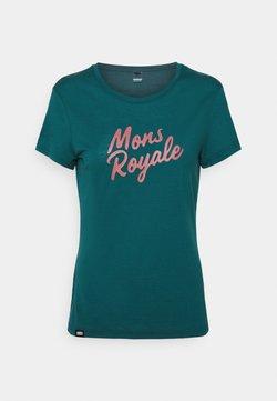 Mons Royale - ICON TEE - T-Shirt print - deep teal