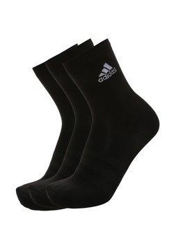 adidas Performance - 3ER-PACK  - Sportsocken - black / white