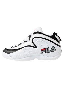 Fila - GRANT HILL 3 - Sneakers hoog - white/black