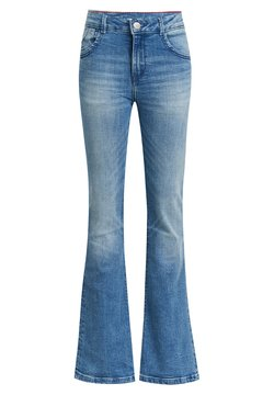 WE Fashion - Flared Jeans - blue