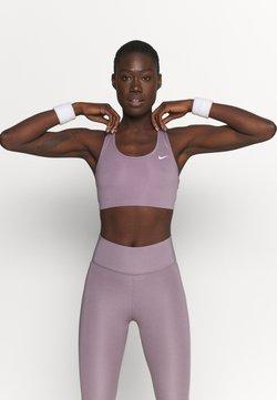 Nike Performance - NON PADDED BRA - Sport-bh met medium support - purple smoke/white