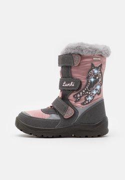 Lurchi - KATINKA SYMPATEX - Snowboot/Winterstiefel - grey/dark pink