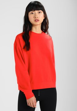 Weekday - HUGE CROPPED - Sweatshirt - red