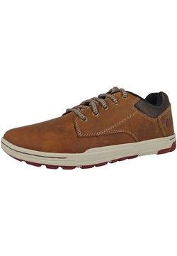 Cat Footwear - COLFAX - Sportlicher Schnürer - dark beige