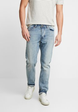 Benetton - Straight leg jeans - washed light denim
