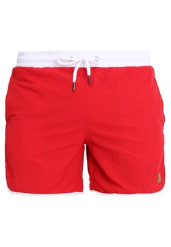 Urban Classics - RETRO - Short de bain - firered/white