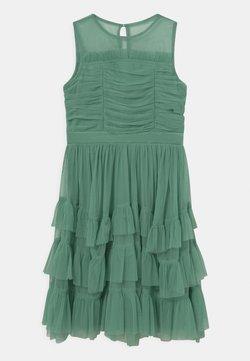 Anaya with love - SLEEVELESS RUFFLE DRESS - Cocktailkleid/festliches Kleid - clover green