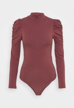 ONLY Petite - ONLZAYLA PUFF BODY - Langarmshirt - rose brown