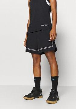 Nike Performance - FLY CROSSOVER SHORT - Korte broeken - black/white