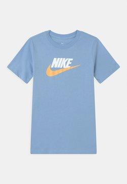 Nike Sportswear - FUTURA ICON - T-shirt imprimé - psychic blue