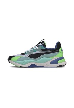 Puma - RS-2K INTERNET EXPLORING  - Sneaker low - black-aruba blue
