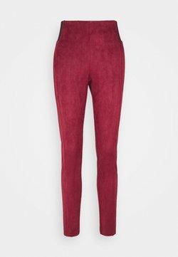 Vero Moda Tall - VMCAVA  - Leggings - Hosen - cabernet
