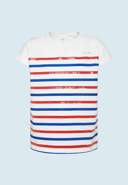 Pepe Jeans - PIPPA - T-shirt con stampa - optic weiss
