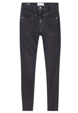 Calvin Klein - Jeansy Skinny Fit - black denim