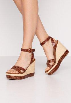 Unisa - MONTEA - High heeled sandals - saddle