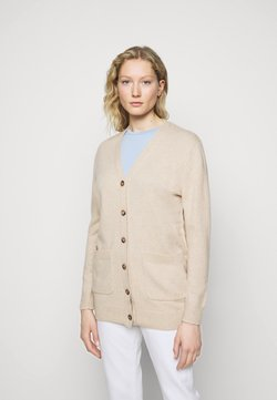 Polo Ralph Lauren - CARDIGAN LONG SLEEVE - Neuletakki - tallow cream