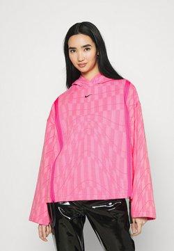 Nike Sportswear - HOODIE - Sweatshirt - hyper pink/lotus pink/black