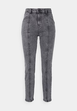 b.young - BYKATO BYKILLI MOM CUT  - Relaxed fit jeans - mid grey