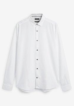Next - SIGNATURE HERRINGBONE - Camicia elegante - white