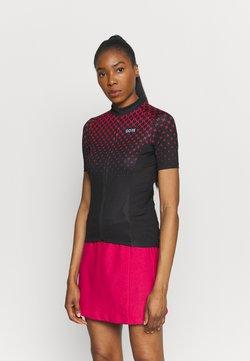 Gore Wear - HAKKA - T-shirt print - black/hibiscus pink