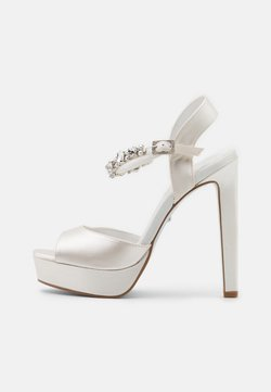 Dune London - MIRACLE - High heeled sandals - ivory