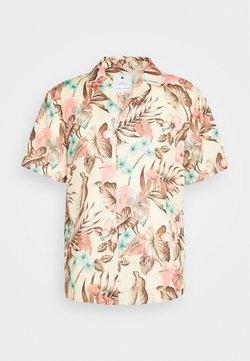 RVLT - SHORT SLEEVE SHIRT WITH ALL OVER PRINT - Shirt - khaki