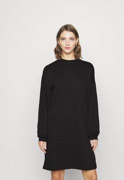 Nly by Nelly - PERFECT SLIT DRESS - Freizeitkleid - black