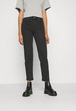 ONLY - ONLERICA LIFE MID - Straight leg jeans - black denim
