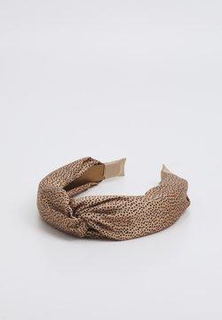 LIARS & LOVERS - SPEC LOOP HEADBAND - Haar-Styling-Accessoires - brown