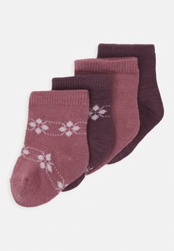 Name it - NBFWAK SOCK 4 PACK - Calcetines - nostalgia rose