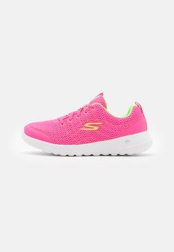 Skechers Performance - GO WALK JOY EASY BREEZE - Scarpe da camminata - hot pink/lime