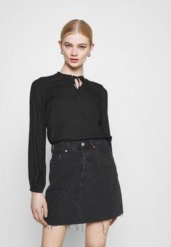 ONLY - ONLANNALIE - Bluse - black