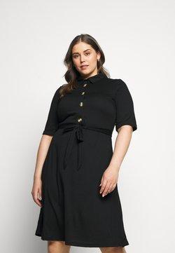 JUNAROSE - by VERO MODA - JRJAMINA BELOW KNEE DRESS - Vestido camisero - black