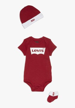 Levi's® - CLASSIC BATWING INFANT BABY SET - Vauvalahja - red
