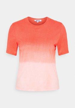 Ética - EVIE - T-Shirt print - thunder lightning fire coral